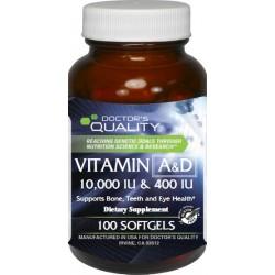 Vitamin A&D 10,000 & 400 IU Softgels