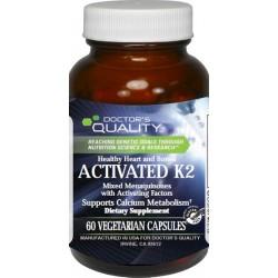 Activated K2 Veg Caps