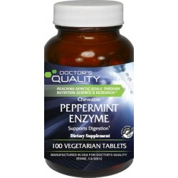 Chewable Peppermint Enzyme