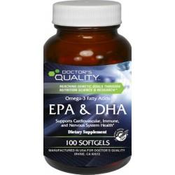 EPA & DHA Omega-3 Fatty Acids